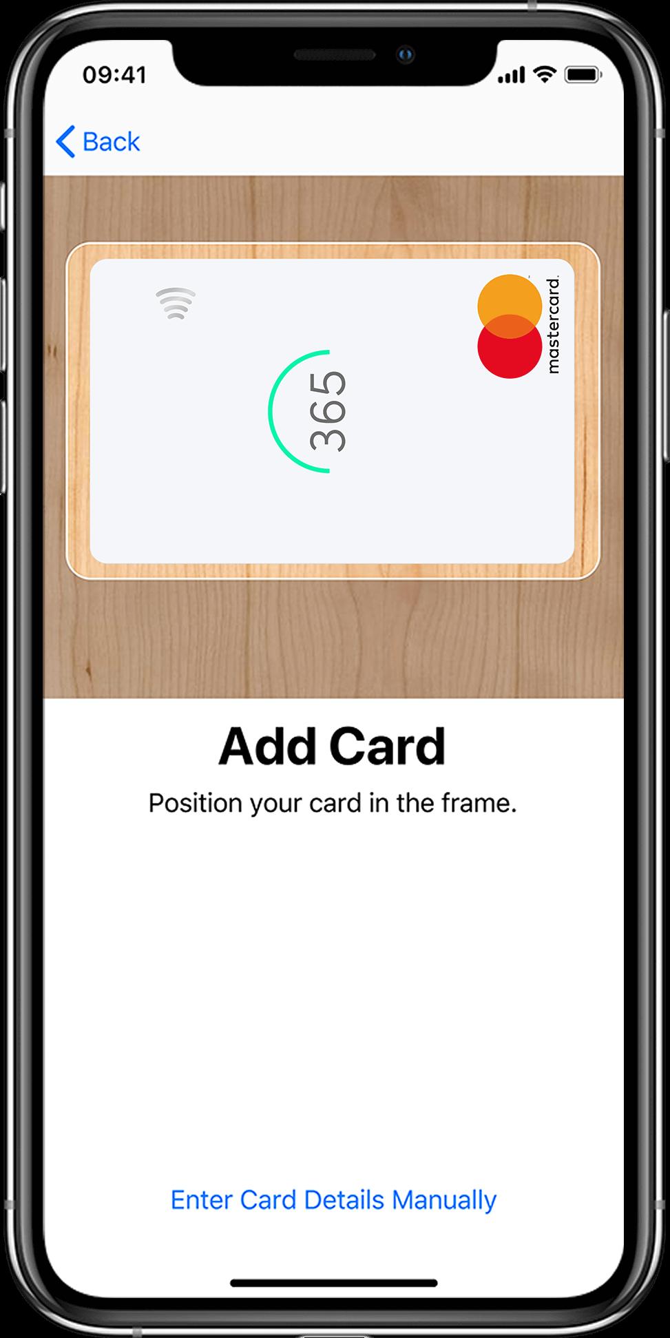 Apple iPhone X - Wallet add cart