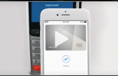 Video platba iPhonom používajúcim Touch ID