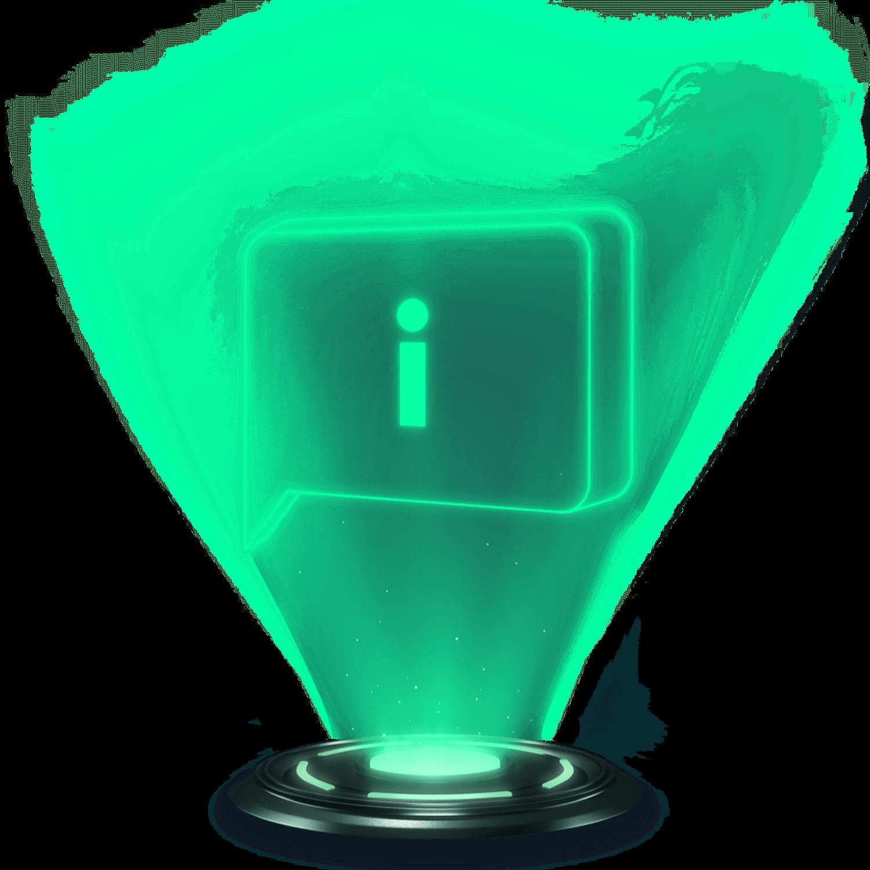 Obrázok - informačný hologram sporenie