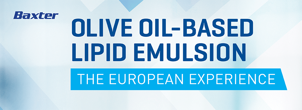 Olive Oil-Based Lipid Emulsion - The European Experience