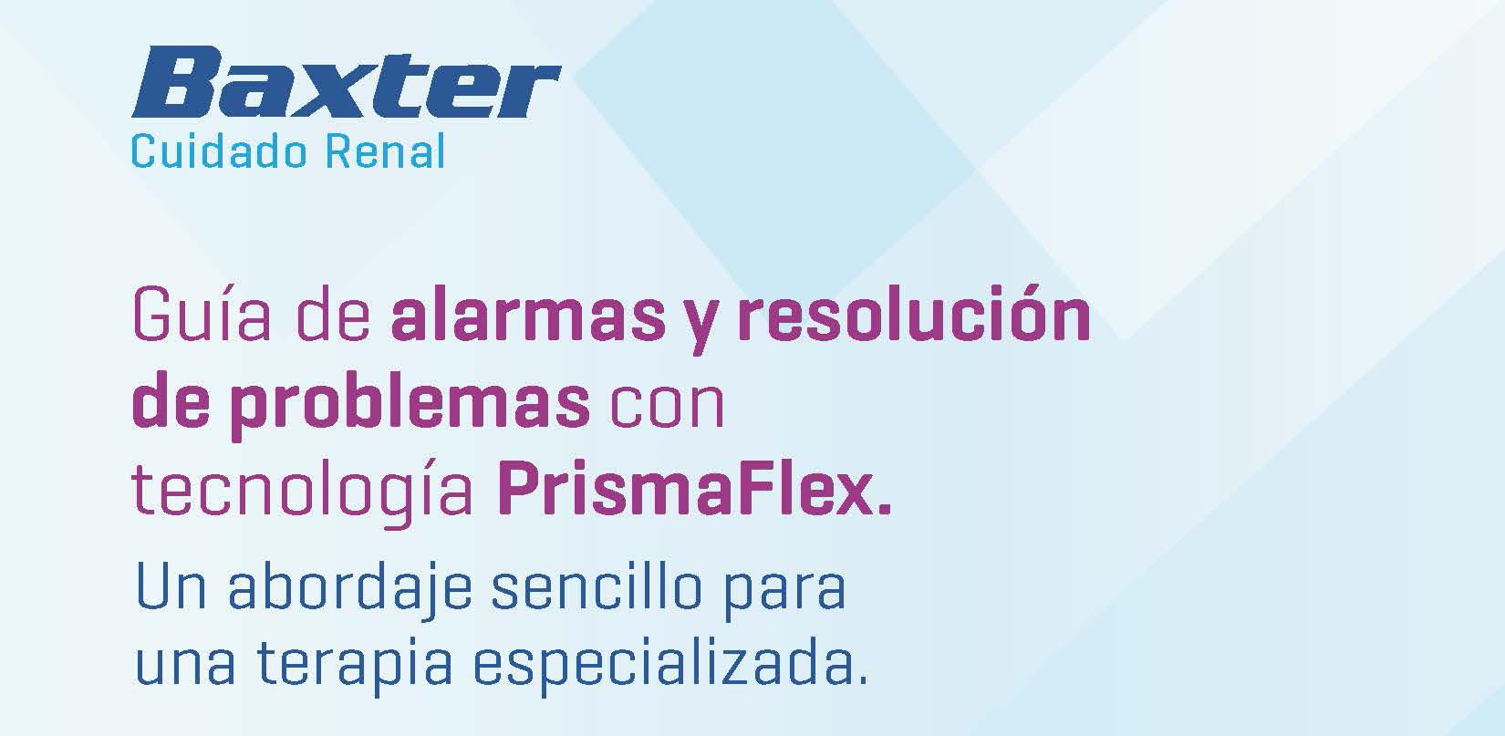 Guía alarmas Prismaflex