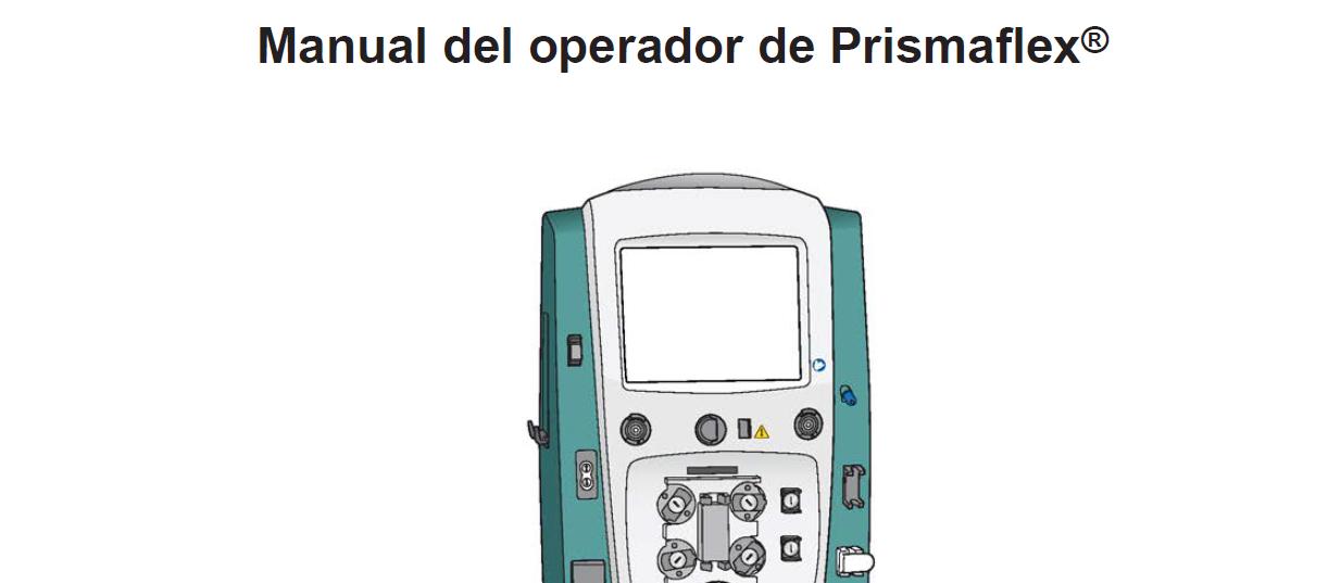 Manual del Operador Prismaflex